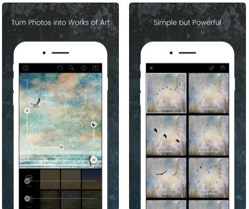 تطبيق Distressed FX لتعديل الصور