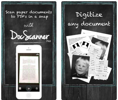 تطبيق DocScanner PRO