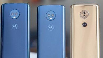 Photo of هواتف موتورولا Moto G6 و Moto G6 Play تبدأ في تلقي تحديث اندرويد 9 Pie !