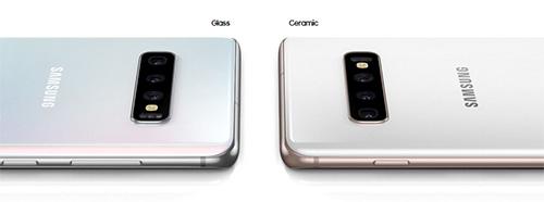 هواتف سامسونج جالكسي S10e و S10 و S10 Plus - التصميم