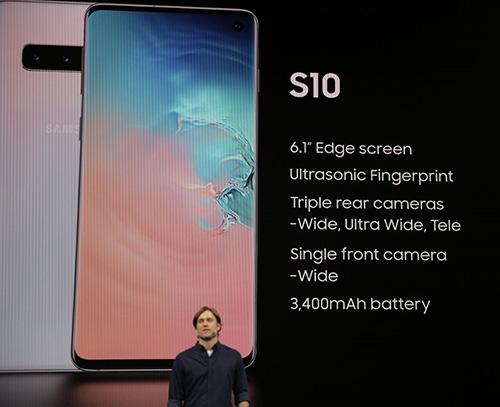 ملخص مواصفات Samsung Galaxy S10