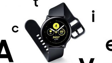 صورة ساعة سامسونج جالكسي Watch Active – تصميم أنيق وتركيز كبير على اللياقة البدنية!