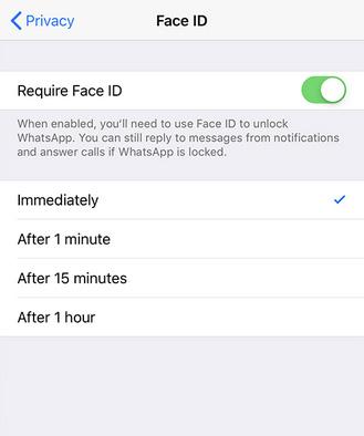 الآن تستطيع قفل الواتس آب على الآيفون بواسطة بصمة الإصبع أو الوجه - تحديث مهم!