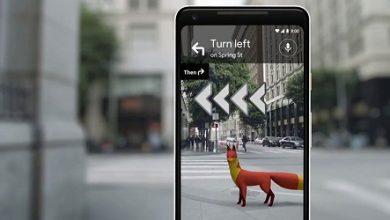 صورة تطبيق خرائط جوجل يبدأ اختبار تقنية الواقع المعزز AR في تحديثه الجديد!