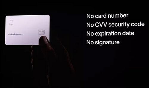 بطاقة آبل الائتمانية Apple Card