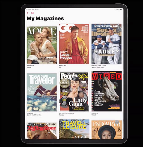 خدمة الأخبار الجديدة Apple News Plus