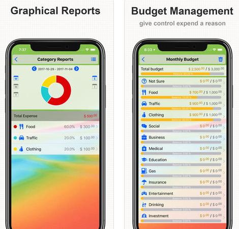 تطبيق DayCost Pro - لإدارة أموالك ومصاريفك