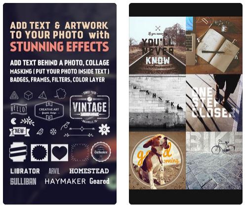 تطبيق Fonta للكتابة على الصور