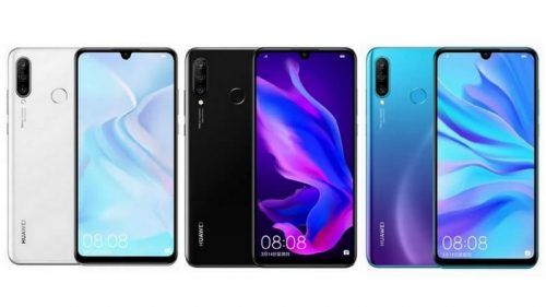 ألوان Huawei nova 4e
