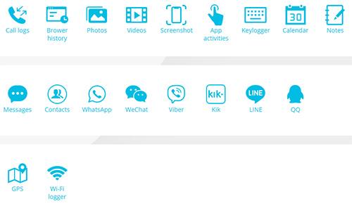 يتيح تطبيق KidsGuardPro العديد من أدوات الرقابة الأبوية