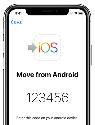 تطبيق Move To iOS من آبل