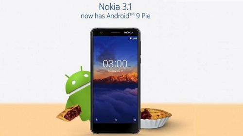هاتف نوكيا 3.1 أحدث الحاصلين على تحديث Android Pie