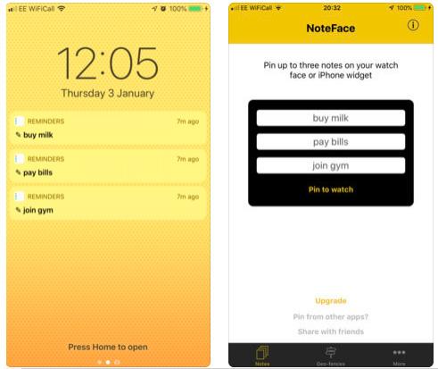 تطبيق NoteFace - لكتابة الملحوظات