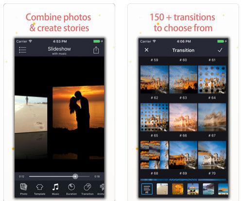 تطبيق Slideshow Master Pro لتحويل الصور إلى فيديو