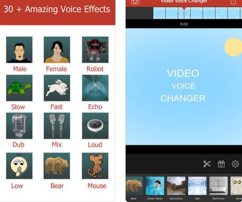 تطبيق Video Voice Changer Pro للتلاعب بالأصوات