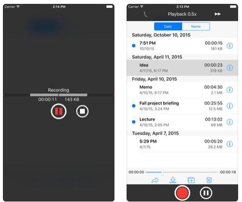 تطبيق You Record 2 لتسجيل الصوت