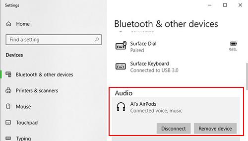 كيفية ربط سماعات Apple AirPods بجهاز الحاسوب على نظام ويندوز
