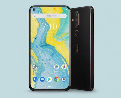 Nokia X71 \ Nokia 8.1 Plus