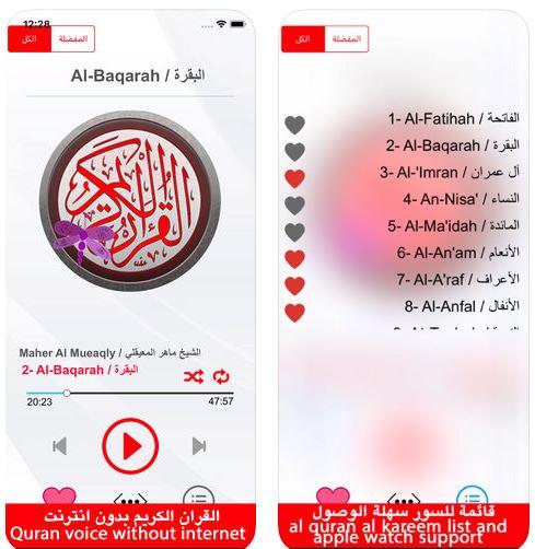 القرءان الكريم بصوت الشيخ ماهر المعيقلي