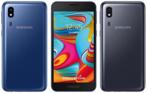 الكشف رسمياً عن Galaxy A2 Core أرخص هواتف سامسونج الجديدة