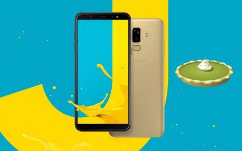 هاتف Samsung Galaxy J8 أحدث الحاصلين على تحديث اندرويد Pie