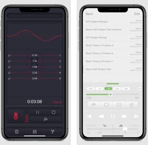 تطبيق Voice Record لتسجيل الصوت بدقة عالية