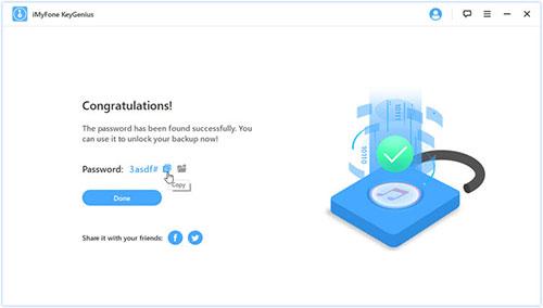 برنامج iMyFone KeyGenius لإزالة وفك كلمة مرور نسخ الآيتونز الاحتياطية!