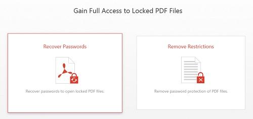 كيفية استخدام برنامج iMyFone Passper for PDF ؟