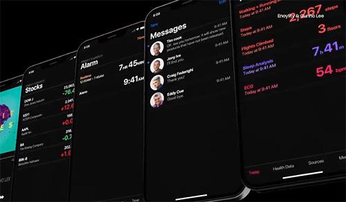 الوضع الليلي في iOS 13