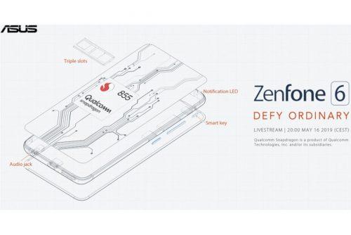 هاتف Asus ZenFone 6 سيضم بطارية ضخمة 5000 ملي أمبير