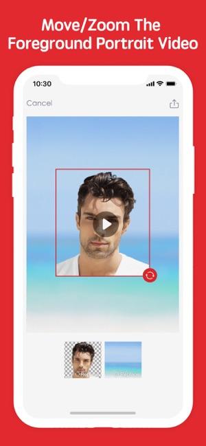 تطبيق Erase&Change Video Background