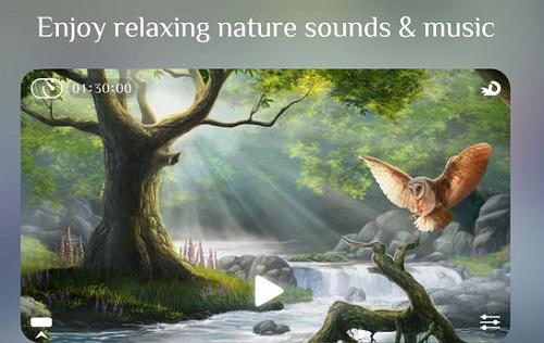 تطبيق Flowing للاسترخاء والتأمل