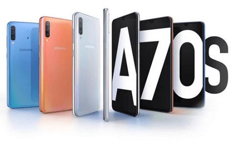 هاتف Galaxy A70s قد يكون أول هاتف من سامسونج بكاميرا 64 ميجابكسل!