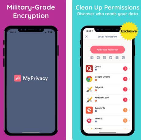 تطبيق MyPrivacy