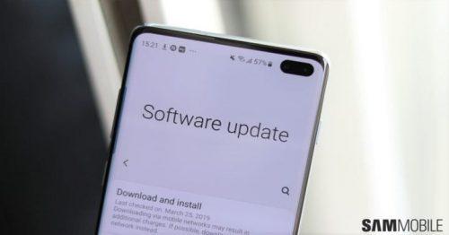سامسونج تبدأ في إرسال تحديث جديد لهواتف جالكسي S10 لحل مشكلات التحديث السابق