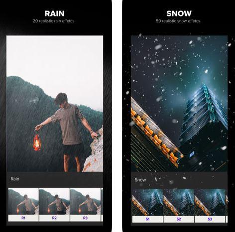تطبيق Presco Overlay - تأثيرات طبيعية داخل الصور