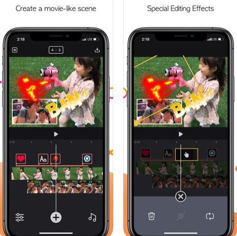 تطبيق Twinkling لتحرير وإنشاء الفيديو (آيفون /آيباد)