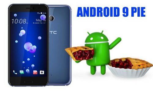 هاتف HTC U11 يبدأ في تلقي تحديث اندرويد 9 Pie