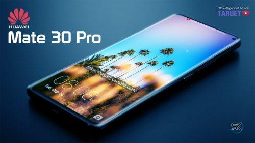 تصميم تخيلي لـ Huawei Mate 30 Pro