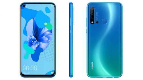 تسريب مواصفات Huawei P20 Lite 2019 مع كاميرا رباعية خلفية وثقب الشاشة
