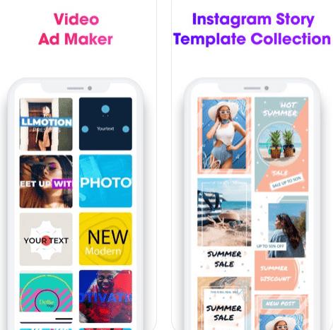 تطبيق Ad Maker المميز لإنشاء وتصميم مقاطع فيديو دعائية على الآيفون ببساطة، مجاني!