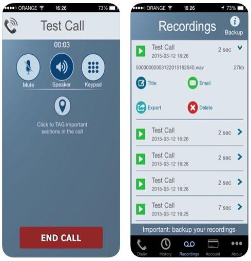 تطبيق Call Recorder لتسجيل المكالمات على الآيفون، مميز ومطلوب!