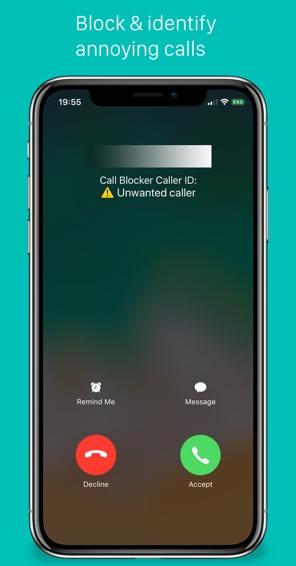 تطبيق CallBlocker