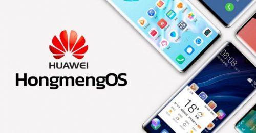 نظام تشغيل هواوي الجديد Hongmeng OS