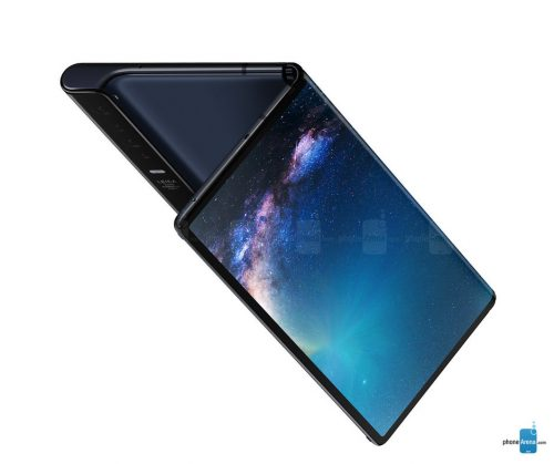 رصد Huawei Mate X مع اتصال 5G بسرعة 1 جيجابايت في الثانية