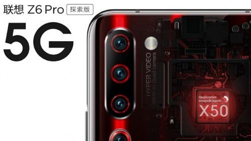 الكسف رسمياً عن الرائد المميز Lenovo Z6 Prp مع إتصال 5G