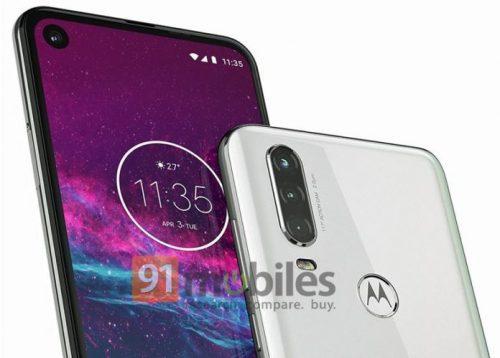 تسريب Motorola One Action مع كاميرا ثلاثية وثقب الشاشة