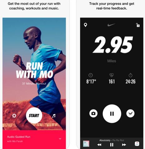 تطبيق Nike Run Club لهواة رياضة الجري