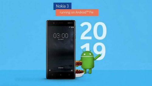 هاتف نوكيا 3 يبدأ في تلقي تحديث اندرويد 9 Pie