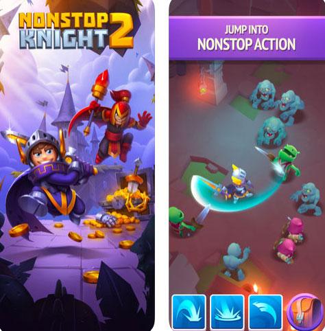 لعبة Nonstop Knight 2